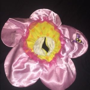 Cute flower costume infant face hat